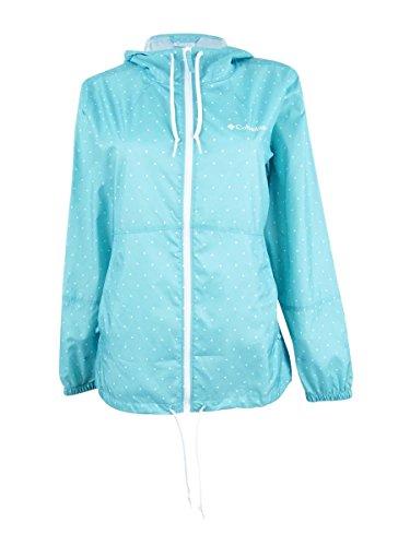 Columbia Damen Flash Forward Printed Windbreaker Jacke, Iceberg Polka Dot, XL