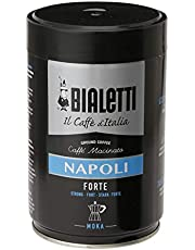 Bialetti 96080114 Napoli, kaffe, svart, silver