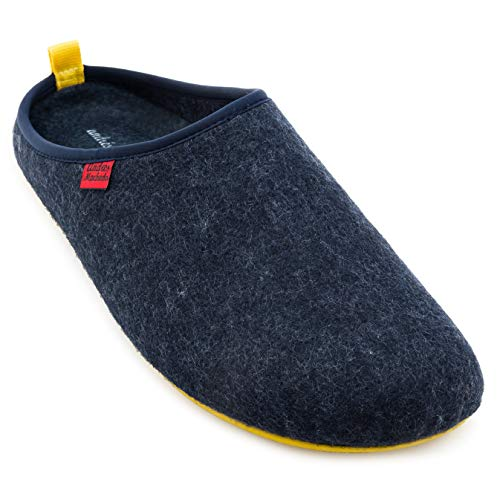 Dorical Impermeable Zapatillas de Estar por casa para Mujer Hombre Casa casual de gran tama/ño para mujer adem/ás de zapatos c/álidos de terciopelo c/ómodas zapatillas de algod/ón