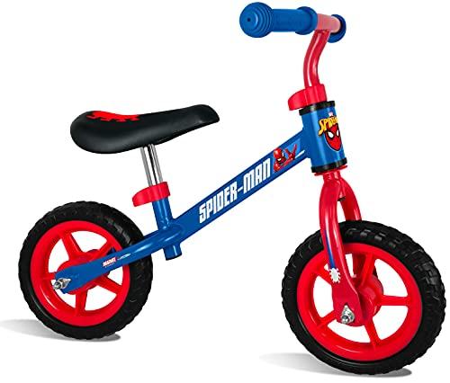 Stamp Running Bike Spiderman, Boys, Azul