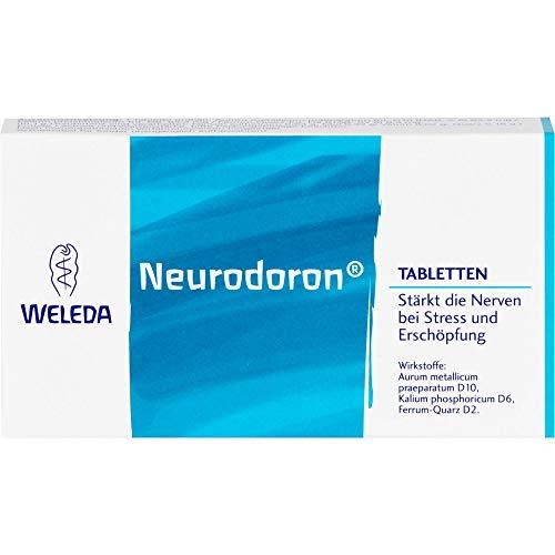 WELEDA Neurodoron Tabletten bei Stress und Erschöpfung, 80 St. Tabletten