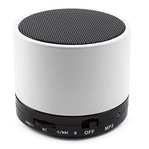 Drumstone Mini Heavy Bluetooth Speaker with FM Radio, Memory Card Slot, USB Pen Drive Slot, AUX Input Mode (1 Year Warranty