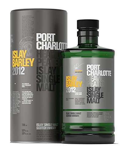 Port Charlotte ISLAY BARLEY Heavily Peated Islay Single Malt 2012 Whisky (1 x 0.7 l)