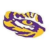 Craftique LSU Decal (LSU Tiger Eye Decal (3',4',6',12'), 3')