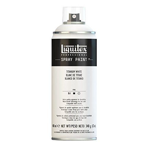Liquitex Professional - Acrílico en spray, 400ml, blanco de titanio