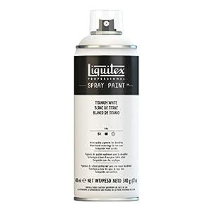 Liquitex Professional - Acrílico en spray, 400ml, blanco de titanio