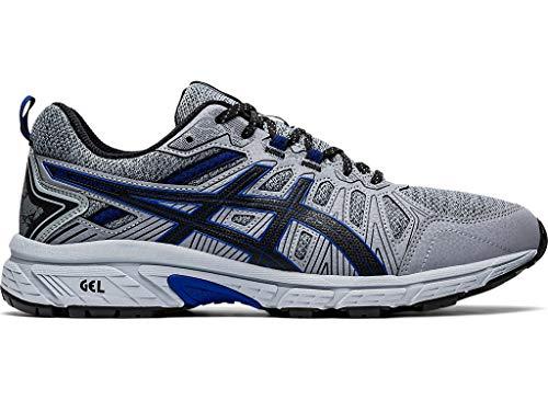 ASICS Men's Gel-Venture 7 MX (4E) Trail Running Shoes, 8.5XW, Sheet Rock/ASICS Blue