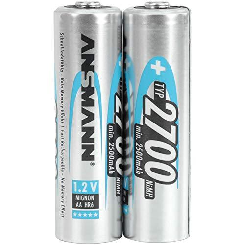 ANSMANN 5030852 type AA hautement capacitifs professionnels utilisateurs 2700mAh / fréquents Digital Photo Battery Battery Pack 2