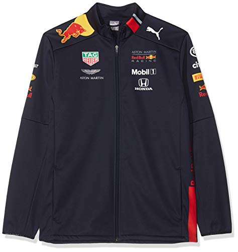 Red Bull Racing Aston Martin Team Softshelljacke 2019, XXL Chaqueta, Azul Navy, XX-Large para Hombre