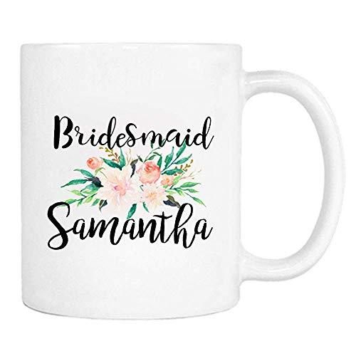 NA Personalizado ¿Serás mi Dama de Honor, Favor de Fiesta de Dama de Honor, Boda Taza-Taza de café