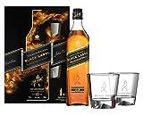 Johnnie Walker - Black Label Gift Pack - 2 x Glasses & Black Label - 12 year old Whisky
