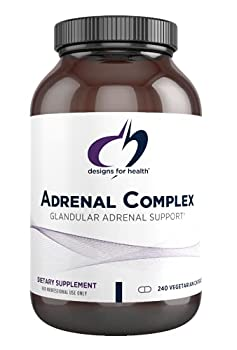 Designs for Health - Adrenal Complex 240 Vegetarian Capsules
