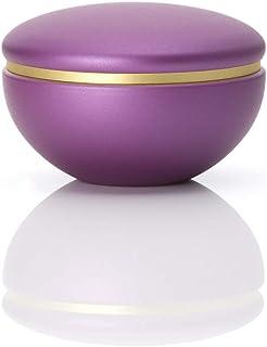 ソウルプチポット ミニ骨壷 真鍮 わかな 葡萄色 手元供養 分骨用 ミニ骨壺 843 紫色