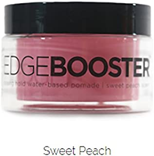 Style Factor Edge Booster Strong Hold Water-Based Pomade 3.38oz - Sweet Peach Scent