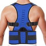 Corrector espalda Soporte ortopédico corrector de postura ajustable para hombres adultos...