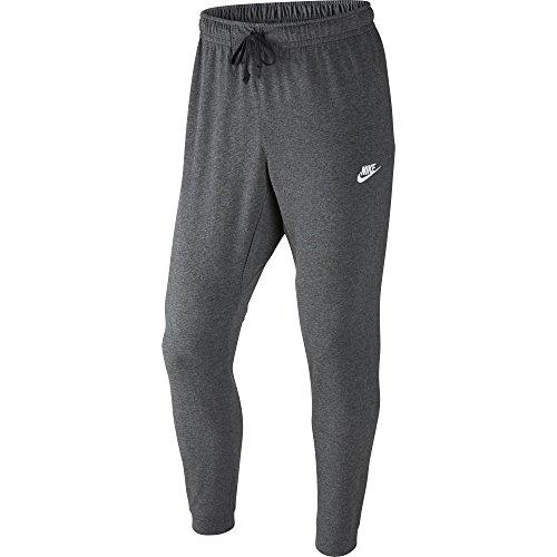 adidas M NSW Club Jggr JSY, Pantaloni Sportivi Uomo, Charcoal Heathr/White, 3XL