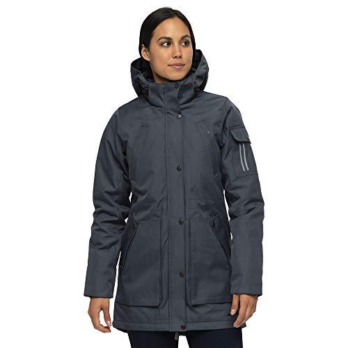 ARCTIX Damen Cascade Insulated Jacket Jacke, Stahl, 1X (16W-18W)