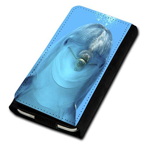 sw-mobile-shop Book Style Flip Handy Tasche Case Schutz Hülle Foto Schale Motiv Etui für Medion Life E5001 - Flip U5 Design4