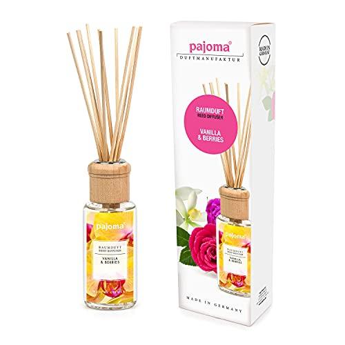 pajoma Raumduft Vanilla & Berries, 1er Pack (1 x 100 ml) in Geschenkverpackung