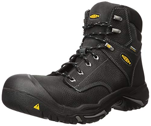 KEEN Utility Men's Mt. Vernon 6″ Steel Toe Waterproof Work Boot