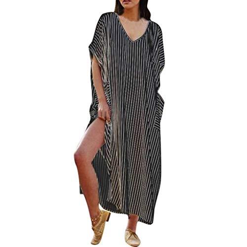 Frauen Damen T-Shirt Rundhals Kurzarm Ladies Sommer Casual Oberteil Locker Bluse Tops - Weiches Material - Sehr Angenehm Zu Tragen