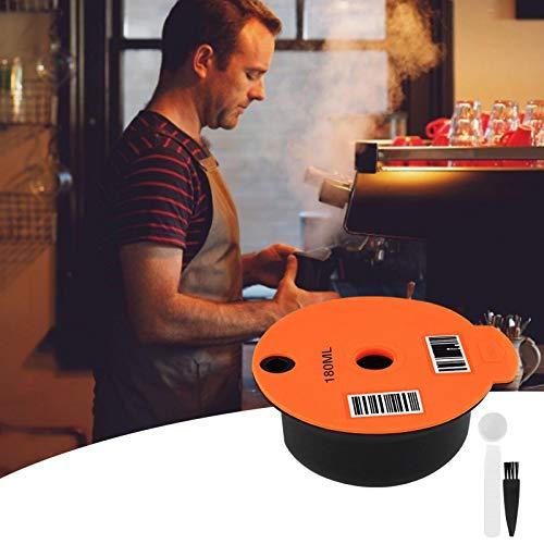 Watermelon 60/180 ml cápsulas de café reutilizables filtro de café almohadillas de café para máquinas Bosch Tassimo taza de filtro de café