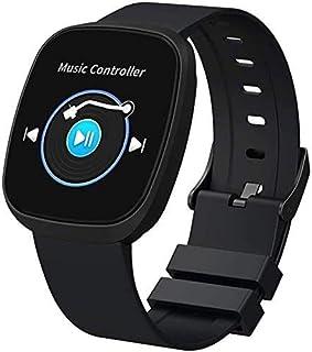 Gymqian Fitness Tracker Smart Watch, Bluetooth 4.0 Reloj Deportivo con Múltiples Funciones, Pantalla de 1.3 Pulgadas, Operación Simple para Grabar Day Day Sports Data Sport Fitness