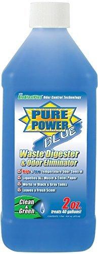 Valterra V23001 'Pure Power Blue' Waste Digester and Odor Eliminator - 16 oz. Bottle Size: 16 Ounce, Model: V23001, Outdoor&Repair Store