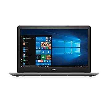 Dell i5770-7449SLV-PUS Inspiron 17 5770 Laptop FHD LED-Backlit Display 8th Gen Intel Core i7 Proc 8GB Memory 128GB SSD+1TB HDD AMD Radeon 530 17.3  Platinum Silver  Renewed