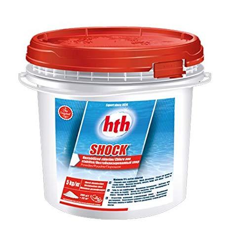 Hth Shock Chlor Schock, nicht stabilisiert, Pool, 5 kg (Pulver)