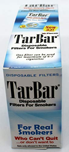 TarBar 8 Pack 32 Filters per Pack