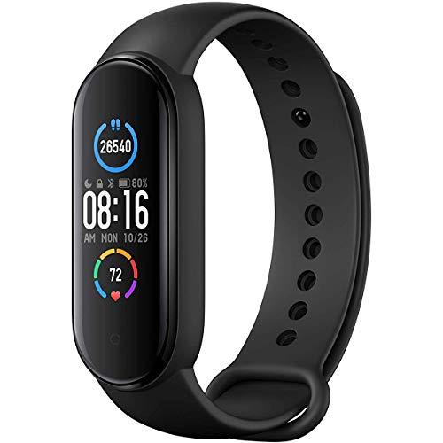 """Fitness Tracker Uomo Donna, Smart Fitness Bracelet Cardiofrequenzimetro IP67 Impermeabile, Schermo a Colori dinamico da 1.1"""" Contapassi Smartband (Versione Globale)"""