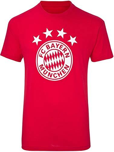FC Bayern München T-Shirt 4 Sterne/Logo FCB - Gr. 164 - XXXL (164)
