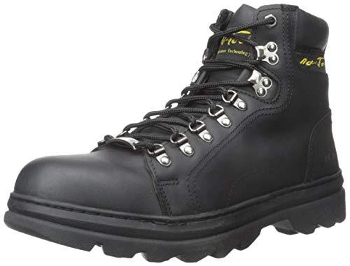 "AdTec Unisex 6"" Work Hiker Boots Hiking Shoe, Black, 8 US Men"