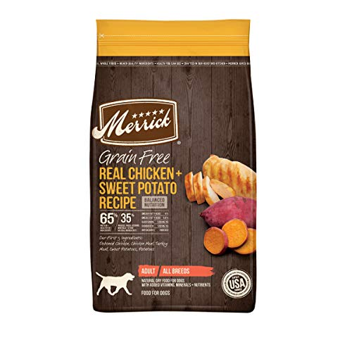 Merrick Grain Free with Real Meat + Sweet Potato Dry Dog Food