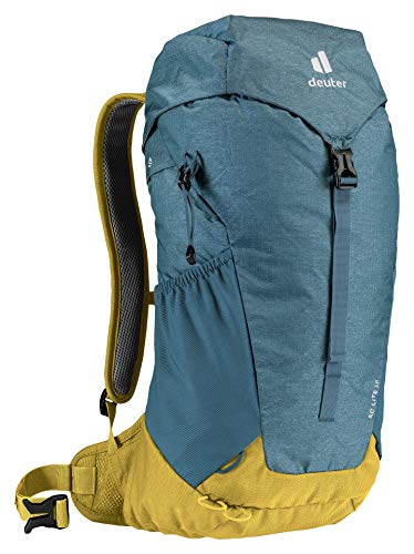 deuter Unisex– Erwachsene AC Lite 16 Wanderrucksack, arctic-turmeric, 16 L
