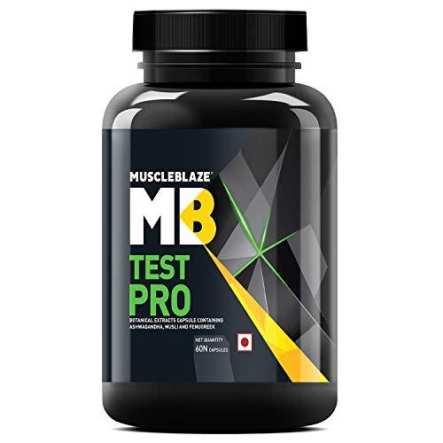 MuscleBlaze Test Pro (With Gokshura as Tribulus) - 60 capsules