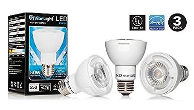 PAR20 LED Light 50 Watt Replacement 3000k