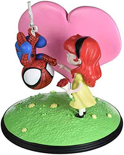 Gentle Giant Spider-Man ANIMIERT, Mary Jane Statue
