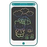 Richgv Tableta Escritura LCD Color, 12 Pulgadas Tableta Gráfica, Portátil Pizarra Digital de Dibujo Adecuada para el hogar, Escuela, Oficina