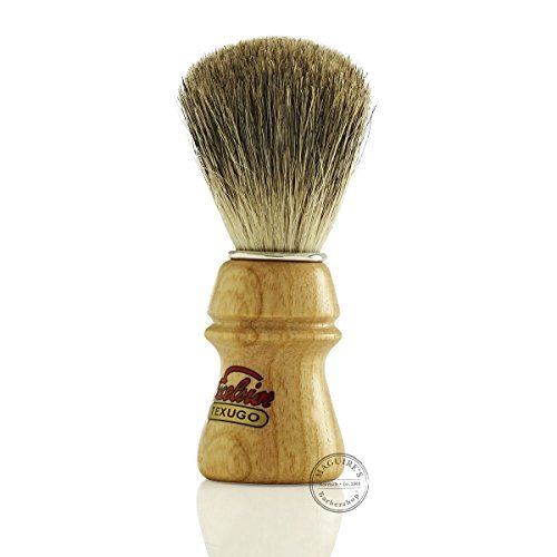 Semogue 2010 de tejón Pure Badger con nudo 22mm y mango de madera de roble