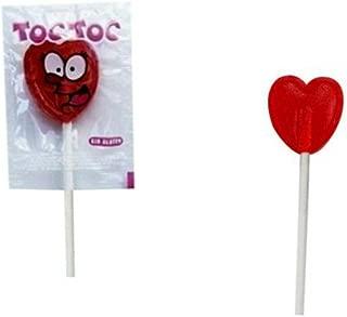 Lote 200 Piruletas Rojas Corazón. Golosinas . Juguetes y Regalos Baratos para Fiestas de Cumpleaños, Bodas, Bautizos, Comuniones y Eventos.
