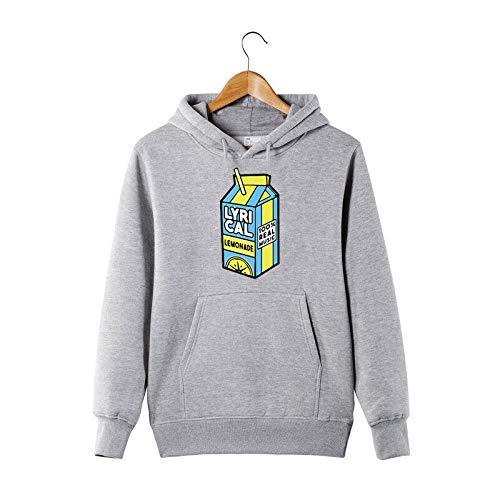 QSL Lyrical Lemonade Style Hoodie Music Rap Hiphop Worldstarr Lil Skies Lil Pump Jui Men Hooded Sweatshirt