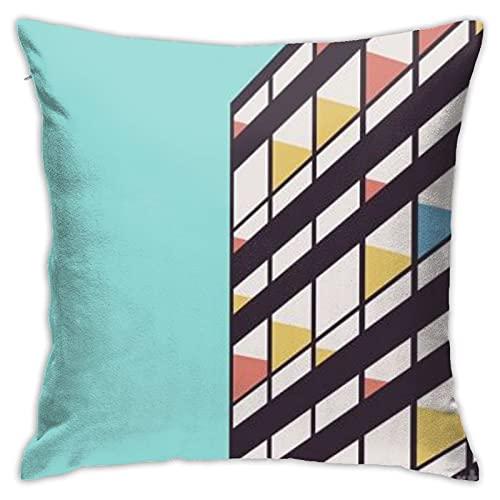 Le-Corbusier-Florent-Bodart - Juego de almohadillas para sofá, decoración del hogar para salón, oficina, coche, cafetería, cama, dormitorio, 45 x 45 cm