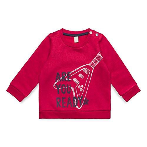 ESPRIT KIDS ESPRIT KIDS Baby-Jungen RM1500207 Sweatshirt, Rot (Tibetan Red 380), 74