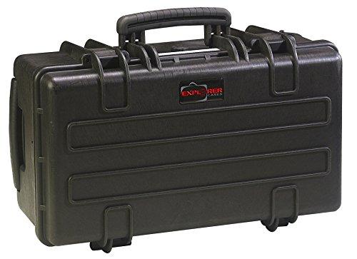 GT Line waterdichte Explorer. B – koffer met schuim van robuust polypropyleen (binnenkant 517 x 277 x 217 mm, 31 liter.