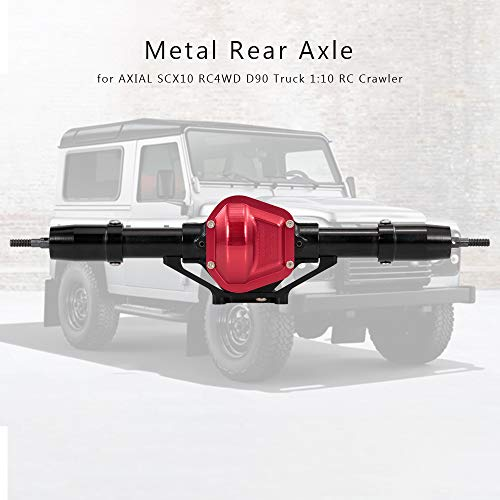 Goolsky 1/10 RC Crawler Metall Hinterachse CNC bearbeitet für AXIAL SCX10 RC4WD D90 LKW