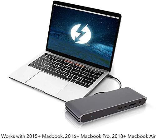 41pDes1srNL-「Caldigit USB-C/Thunderbolt 3 HDMI Dock」をレビュー。Chromebookでも使える万能ドック