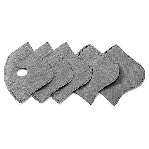 Ningb Masker Filter 5 Lagen Anti Stof PM2.5 Vervanging Stofdicht voor Mond Maskers Sport Fietsen