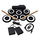 WICKED GIZMOS Electronic Drum Mat –...
